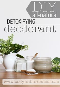 This DIY all-natural deodorant not only keeps you odor-free but also includes an ingredient (bentonite clay) that actually pulls toxins from the skin. I've been wearing it for years and still swear by it!