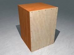 How to Build a Cajon drum -- my husband and kids did this today with scrap wood.  It only took about an hour and sounds really good!