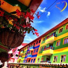 """""""candy Land"""" ~ Guatape, Colombia so pretty. Colombian Culture, Colombian Art, Ecuador, Ap Art, Art Icon, Sale Poster, What A Wonderful World, Candyland, Monuments"""