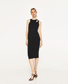ZARA - WOMAN - LONG RIBBED DRESS