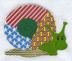Patchwork Snail