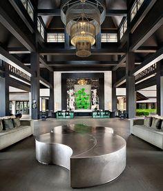 Le Meridien Chiang Rai Resort, Thailand—Lobby