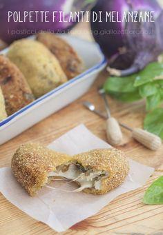Polpette di melanazane - #food #cheese #polpette #italy http://blog.giallozafferano.it/laziatata/polpette-di-melanzane/