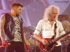 Adam Lambert and Brian May - Mohegan Sun 7/19/14