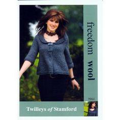 Swing Jacket in Twilleys Freedom Wool (9064) £2.99