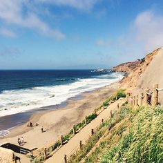 Pacifica Ocean Beach in California. Photo courtesy of ceciliaxyang on Instagram.