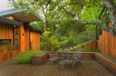 Jones Residence in Redwood City, California by Kaplan Architects via @. HomeDSGN .