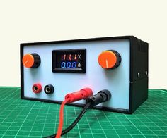DIY Variable Power Supply With Adjustable Voltage and Current