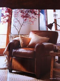 Pottery barn manhattan collection armchair for living room. Mmmmm.