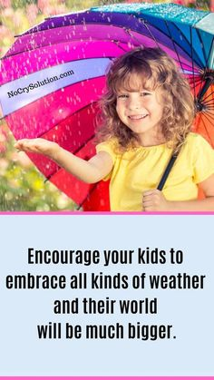Teach your Kids to Embrace the Rain -- These Tips Can Help! . . #elizabethpantley #nocrysolution #attachmentparenting #parenting #rainyday #badweather #toddlers #preschoolers Natural Parenting, Gentle Parenting, Parenting Advice, Kids And Parenting, Funny Parenting, Attachment Parenting Quotes, Every Mom Needs, Conscious Parenting, Raising Kids