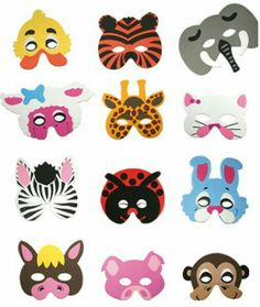 Antifaces animales