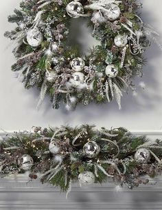 Deck your halls with the beauty of winter with the Let It Snow Pre-Decorated Greenery that features a stunning mixture of lifelike greenery, sparkling ornaments and glittering pine boughs, mini pinecones and evergreen shoots.
