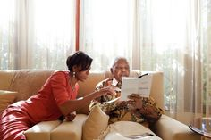 First Lady Michelle Obama had the privilege of meeting with Nelson Mandela in his home in South Africa a couple of years before he passed.