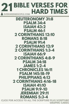Scripture For Hard Times Scripture For Hard Times<br> In this post you will find 21 Scripture for hard times that will help strengthen and equip you for whatever you face. These Bible verses for hard times will truly help you as you lean in on God's word. Scripture Reading, Scripture Study, Scripture Quotes, Word Reading, Scripture Memorization, Reading Quotes, Prayer Scriptures, Bible Prayers, Prayer Quotes