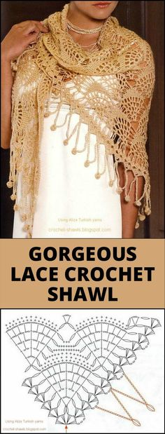 100 Free Crochet Shawl Patterns - Free Crochet Patterns - Page 12 of 19 - DIY & Crafts