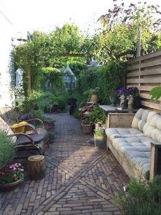 Small City Garden, Small Courtyard Gardens, Small Backyard Gardens, Terrace Garden, Back Gardens, Small Gardens, Dream Garden, Outdoor Gardens, Small Urban Garden Design
