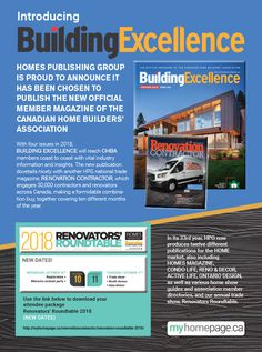Publisher of new homes, new condos and renovation related media & magazines Media Magazine, Free Magazines, New Condo, Home Builders, Insight, New Homes, Group, News, Building
