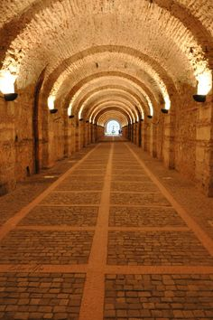 tunnel of the Ottoman Palace