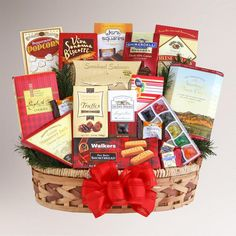 One of my favorite discoveries at WorldMarket.com: For Any Occasion Gift Basket