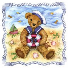 , Teddy Bear Cartoon, My Teddy Bear, Tatty Teddy, Beach Clipart, Teddy Bear Pictures, Bear Decor, Bear Illustration, Vintage Teddy Bears, Paddington Bear