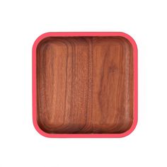 WUD Cafe Plate Red