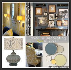 Favorite Decorating Tips & Tricks {Friday Favorites} at The Creativity Exchange