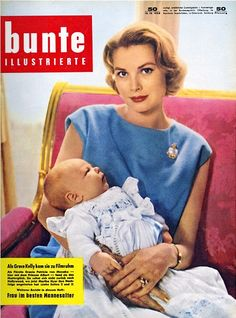 Grace Kelly covers bunte magazine