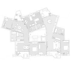 Architecture | Collective housing | Floor plan
