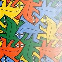 Lagartijas Escher