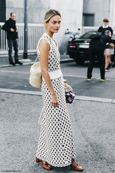 Milan Fashion Week-Spring Summer 2016 Street Style