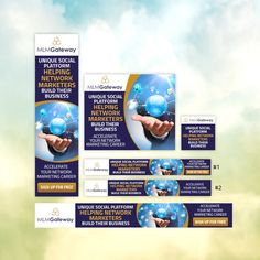 Animated GIF banner ads for business site - More work for the winner by DesignerHills