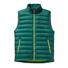 M'S DOWN SWEATER VEST, Size small. On sale colors preferred! Arbor Green (ABRG)