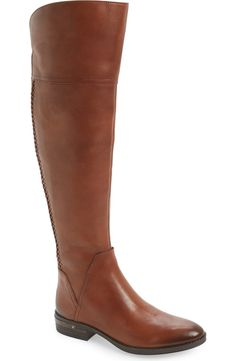 In love with these Vince Camuto boots from the Nordstrom Anniversary Sale. An over-the-knee silhouette is a dramatic, trend-savvy update to this rugged yet refined riding boot set on a stacked block heel.