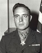 "Hershel ""Woody"" Williams - U.S. Marine Corps Medal of Honor recipient for actions in Battle of Iwo Jima during WWII."