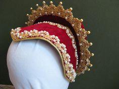 French hood style cap Elizabethan 158095 by woodsholme on Etsy