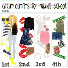 Cute+Clothes+for+Middle+School | polyvore.comGreat Outfits for Middle