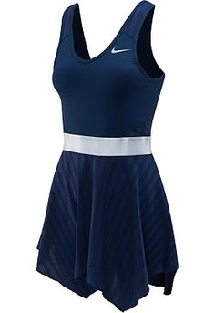 Nike DriFit Tennis Serena Williams Dress on Mercari Nike Tennis Dress, Tennis Clothes, Tennis Outfits, Tennis Gear, Sports Shoes For Girls, Fashion Drawing Dresses, Sports Uniforms, Tennis Fashion, Golf Outfit
