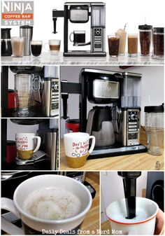 great coffee No more whole pots of boring coffee. Now we can have ALL THE FLAVORS! Now you can satisfy ALL of your coffee cravings with the Ninja Coffee Bar System! Ninja Coffee Bar Recipes, Ninja Coffee Maker, Best Coffee Maker, Ninja Recipes, Bar Drinks, Yummy Drinks, Coffee Drinks, Beverages, Ninja Bar
