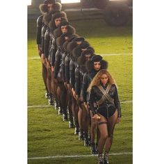 I see it, I want it I dream it, I work hard, I grind til I own it.  I twirl on my haters! ✊ #BlackMagic #History #SuperBowl50 #Beyonce #Formation #iSlay