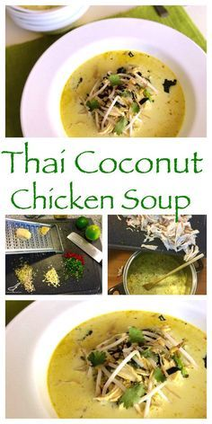 An easy to make recipe, authentic and delicious. Easy Tom Kha Gai (Thai Coconut…
