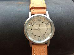Seen on SilverInTheCity.com: Platform Watch with Orange Band