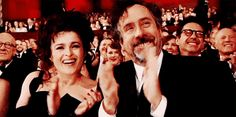 Tim and his wife Helena Bonham Carter live in two different houses connected by a grand hallway. | 23 Things You May Not Know About Tim Burton And His Movies