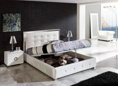 Modern Bedroom Sets White likable storage beds nyc inspiration … | pinteres…