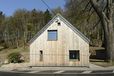 Completed in 2018 in Janov nad Nisou, Czech Republic. Images by Alexandr Hudeček. The approach to the renovation of a traditional cottage in the Jizera Mountains was, from the very beginning, determined by the need to reconcile. Outdoor Seating, Outdoor Spaces, Amazing Architecture, Architecture Design, Genius Loci, House In Nature, Dormer Windows, Aging Wood, Ground Floor Plan