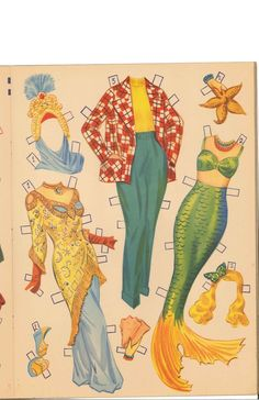 Ann Blyth Paper Dolls (10 of 11), Merrill #2550
