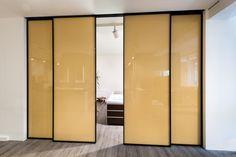 Linvisibile Marea Marechiaro sliding doors designed by Giulio Cappellini . #invisibledoors #designdoors #internaldoors #interiordesign