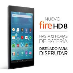 Global Ideas AVR: Nuevo Fire HD 8, pantalla HD de 8'' (20,3 cm), Wi-...