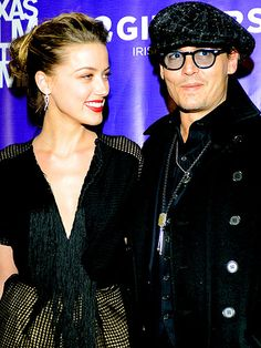 SO IN LOVE photo | Amber Heard, Johnny Depp
