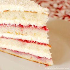 Raspberry Lemon Coconut Cake | Kathy's Cookbook