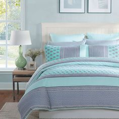 Betty Quilted Quilt Cover Set